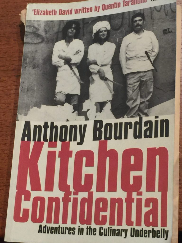 Kitchen confidential cuisine extreme
